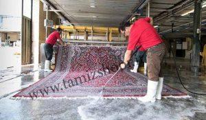 بهترین قالیشویی قم