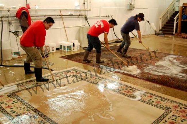 قالیشویی در رشت
