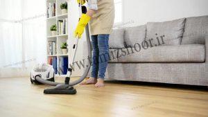 نظافتچی منزل